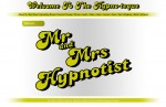 Screen shot of original Mr and Mrs Hypnotist Site